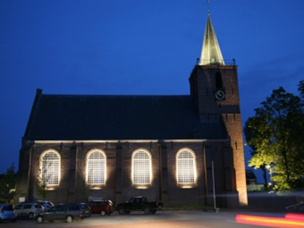 Verlichting Nicolaaskerk Kortgene