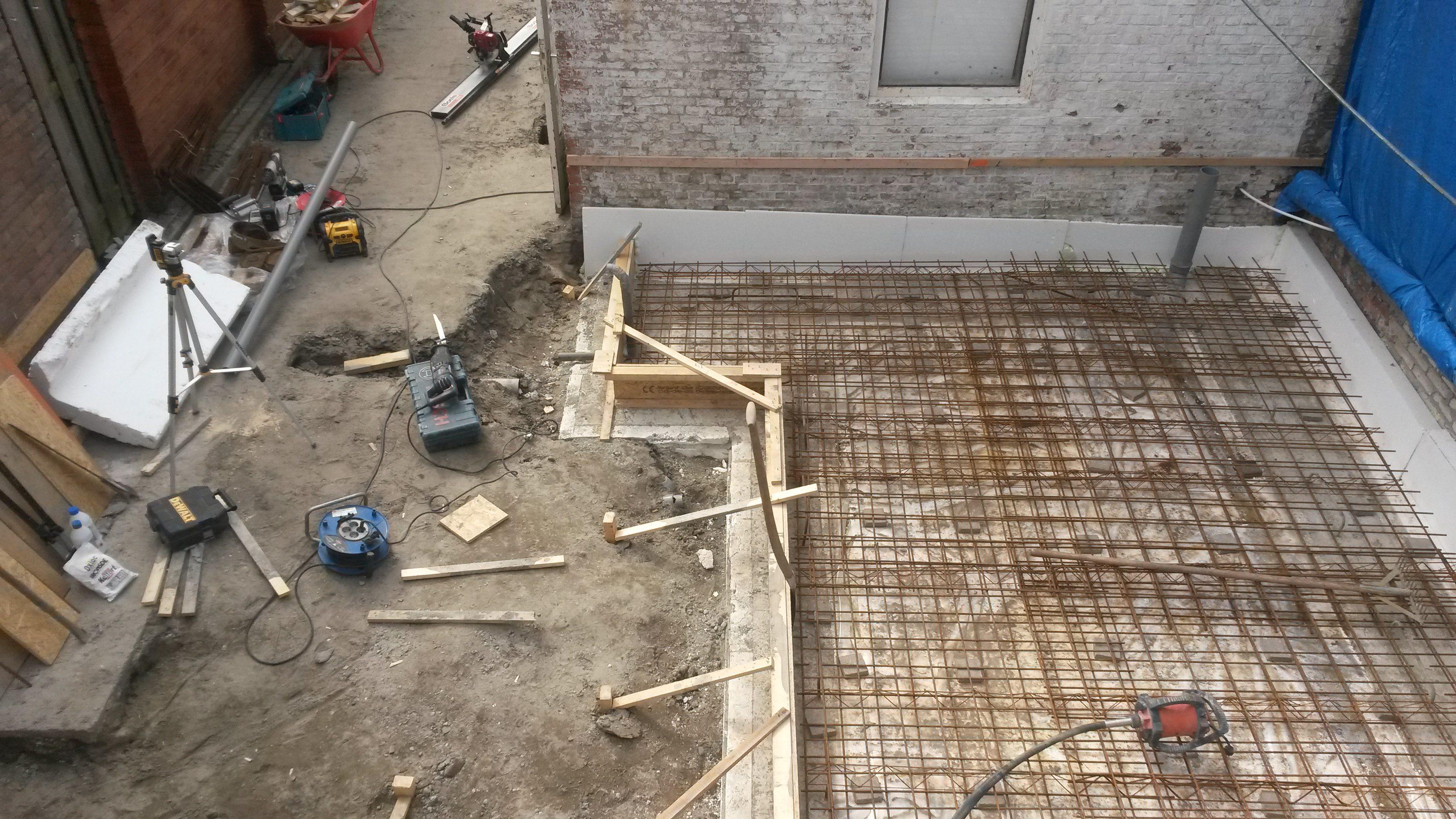 Plaatsing aanbouw Colijnsplaat